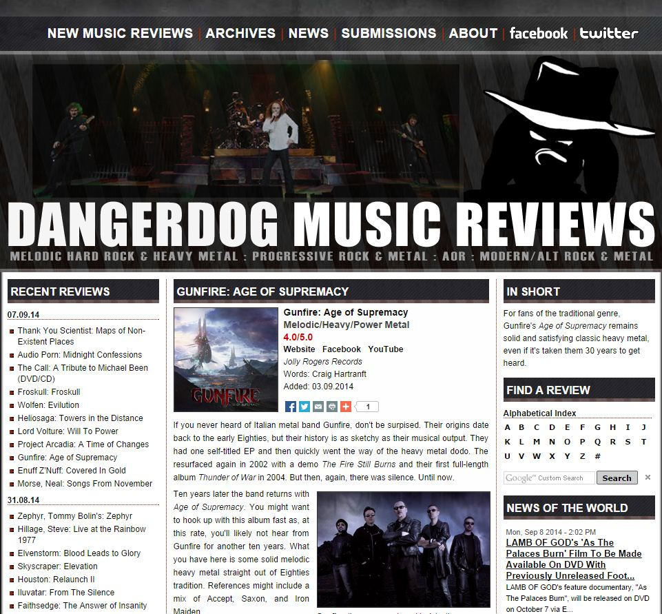 Dangerdog - Age Of Supremacy - read