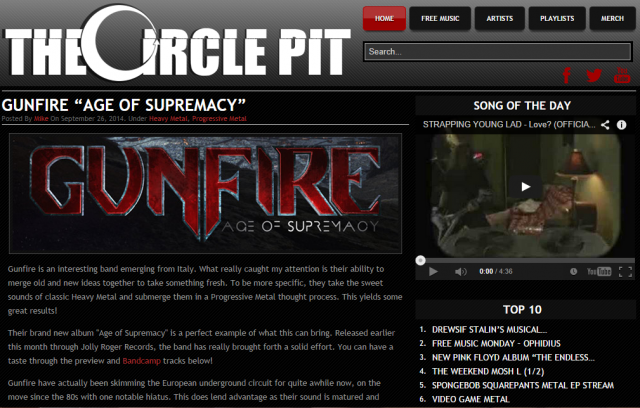 The Circle Pit - Age Of Supremacy